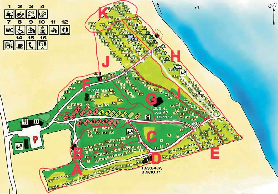 Campingplatser Böda Riviera - Kyrketorp